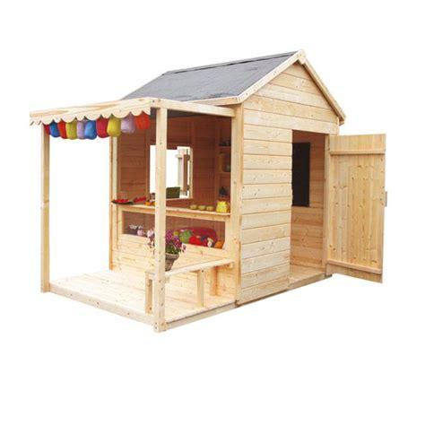 maisonnette en bois epicerie castorama projet cabane dans le jardin maisons