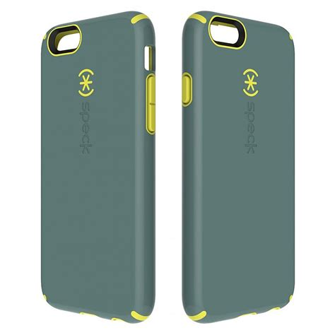speck iphone cases speck candyshell for iphone 6 grey yellow at