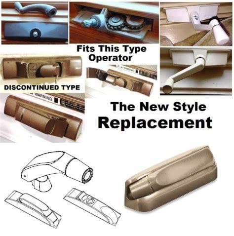 marvin casement window folding handle  cover  biltbest window parts