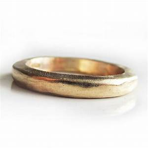 thick solid gold wedding ring in 22 carat yellow gold With 22 carat gold wedding ring