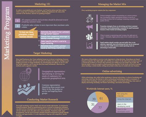Marketing Program by Marketing Plan Infographic