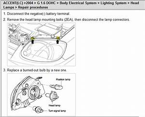 I Need Instructions On How To Replace The Entire Headlight
