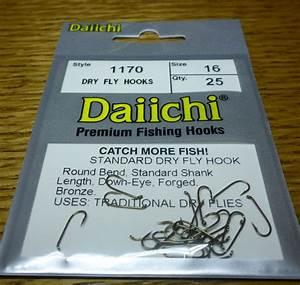 Dry Fly Hooks Daiichi 1170 Standard
