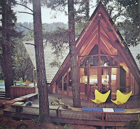 what is an a frame house a frame cabin live