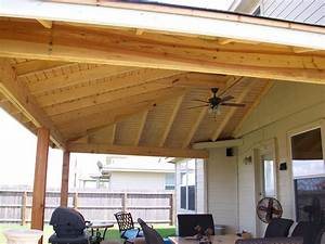 Pitched Roof Patio Covered Ideas Pergolas Bination Lattice