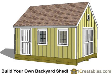 10x14 gable shed plans 10x14 gable shed plans icreatables sheds