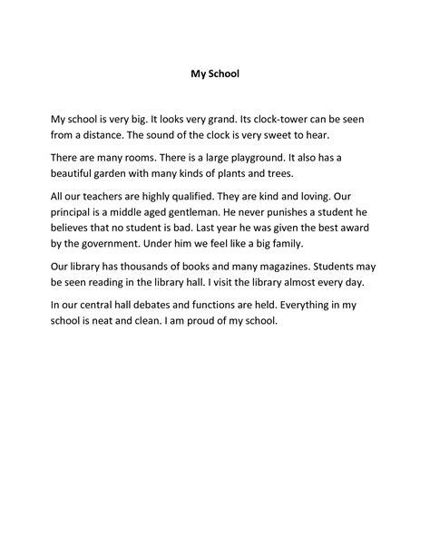about my school essay   usefulresults my contribution to my school essay bamboodownundercom