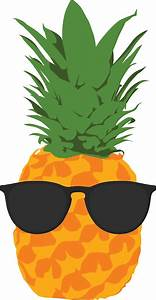 """Cool Pineapple With Sunglasses"" Stickers by SimpleComplex"