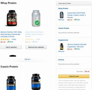 Optimum Nutrition / IsoPure Deal on Amazon: Buy $60, Save $15!