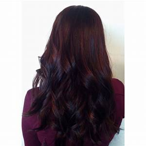 Mahogany color melt Haircolor using L'Anza Healing ...