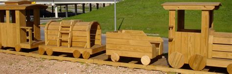 wood workwooden train playground plans   build  easy diy woodworking projects