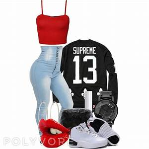 Pants: supreme t-shirt, crop tops, high waisted jeans ...