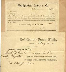 samuel wailes grubb civil war documents With documents on the civil war