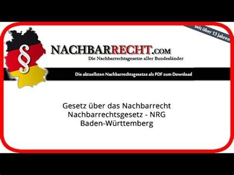nachbarrechtsgesetz baden württemberg nachbarrechtsgesetz baden w 252 rttemberg auf https www nachbarrecht