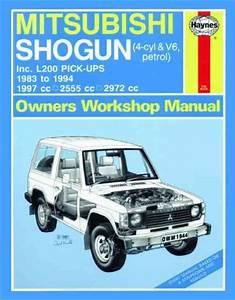Mitsubishi Pajero Triton L200 Pick Ups 1983 1994 Uk