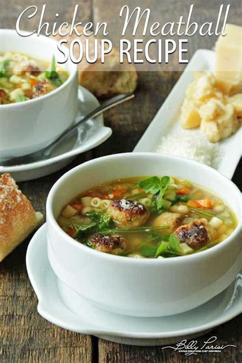 Even if you don't have much chicken left over, you should still make this. Chicken Meatball and Vegetable Noodle Soup | Recipe | Soup ...