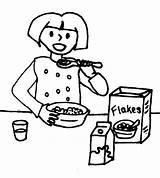 Breakfast Drawing Week Number Activity Ready Reward Chart Social Getdrawings sketch template