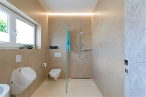 Badezimmer Fliesen Fugenlos by Badgestaltung Ohne Fliesen Wohndesign Ideen