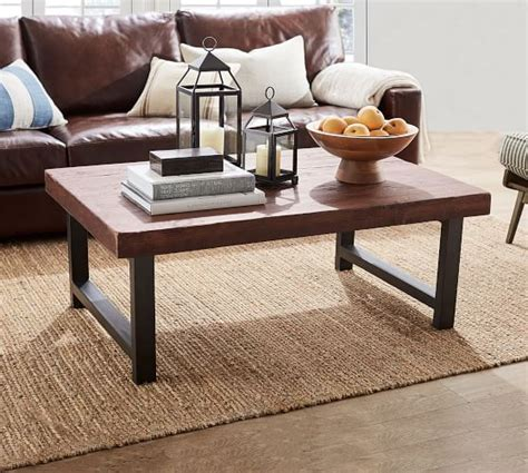 Pottery Barn Griffin Dining Table by Griffin Reclaimed Wood Coffee Table Pottery Barn