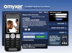myxer ringtones for android myxer free ringtones app for android phones