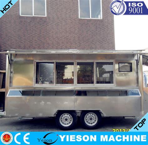 remorque cuisine mobile camion de nourriture remorque collation alimentaire remorque mobile cuisine voiture avec ce