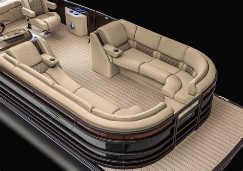 Pontoon Boat Seat Configurations by 2017 R25 Swingback Pontoon Boats