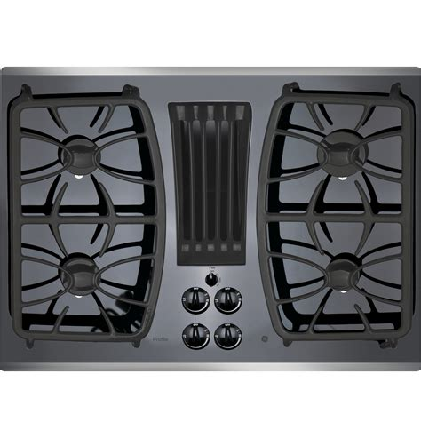 ge gas cooktop ge profile series 30 quot built in gas downdraft cooktop