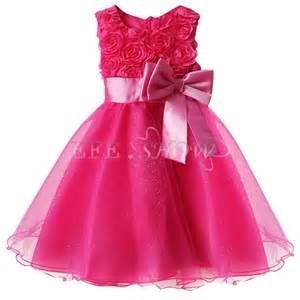 2 robe tunue de soirée mariage baptême cérémonie bébé enfant fille sombre ebay - Robe Fille Mariage