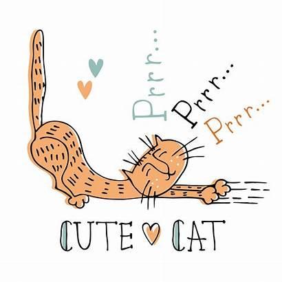 Cat Mischievous Vector Illustration Clipart Sweet Pop