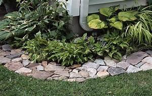Cheap edging for flower beds