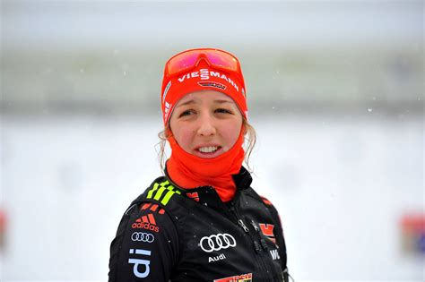 """She competed at the 2014 and 2018 winter olympic games. Der Sport-Tag: Franziska Preuß kann """"keinen Meter ..."""