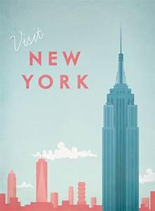 New York Poster : new york vintage travel poster travel poster co ~ Orissabook.com Haus und Dekorationen