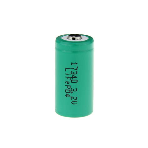 Best Rechargeable Cr123a Lithium Batteries by 17340 Cr123a Rechargeable Lithium Lifepo4 Battery