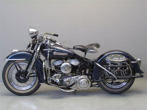 Harley Davidsons by Harley Davidson 1947 47wl 750cc 2 Cyl Sv Yesterdays