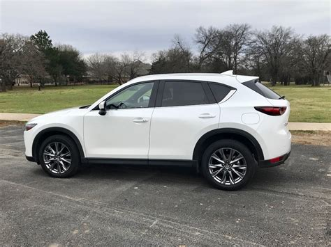 mazda cx  signature awd review carprousa