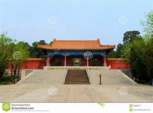 Zhao Ling Ming Tombs Royalty Free Stock Photography ...