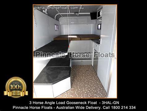 horse angle load gooseneck float hal gn hal