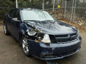 salvage dodge avenger cars for sale and auction