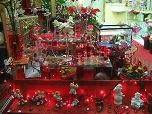 Vitrine Saint Valentin : celhy fleurs ~ Louise-bijoux.com Idées de Décoration