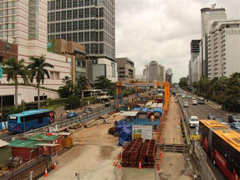 dampak positif pembangunan infrastruktur  terasa