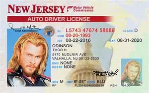 New Jersey (NJ)... Fake Id