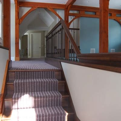 custom stairs railings  nh ma colonial woodworking