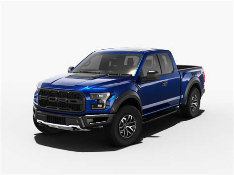 Ford Model F by F 150 Raptor 2017 3d Model