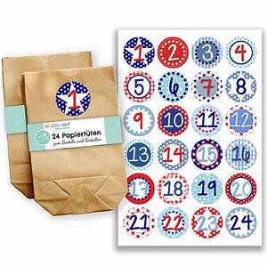 Adventskalender Zum Befüllen : adventskalender set 24 braune kraftpapiert ten mit 24 bunten zahlenaufklebern zum ~ Orissabook.com Haus und Dekorationen