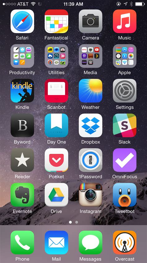 iphone home screen home screens bradley chambers macsparky