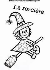 Halloween Sorciere Gommettes Pour Coloriage Sur Playmais Maternelle Imprimer Son Bricolage Balai Coloring Dessin Templates Colorier Blanc Enfant Enfants Les sketch template