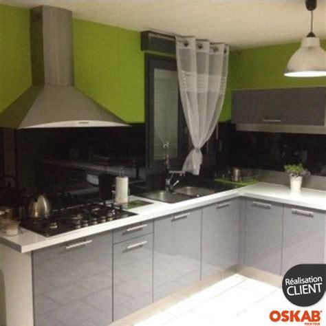 cuisine ouverte grise cuisine moderne grise ouverte oskab