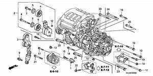 2007 Honda Odyssey Engine Parts Diagram