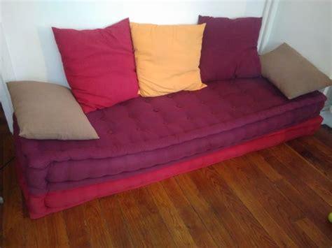 canapé au sol coussins de sol