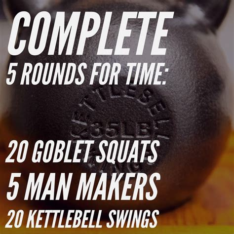 kettlebell workout makers workouts kb squats swings training crossfit goblet fitness